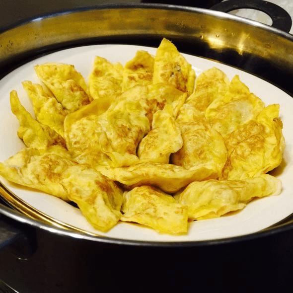 健康美食之蛋饺