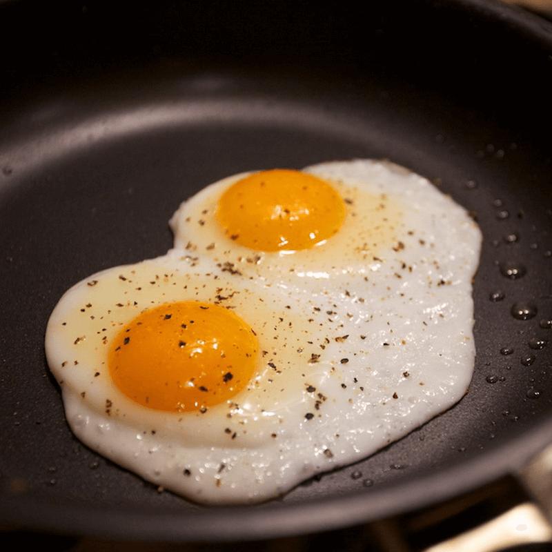 在家做的煎蛋