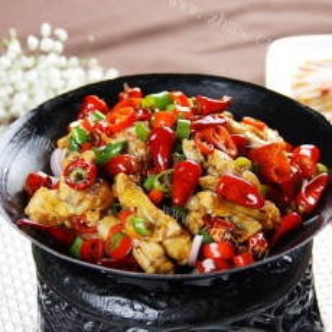 健康美食干锅牛蛙