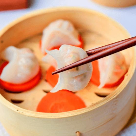 自制水晶虾饺