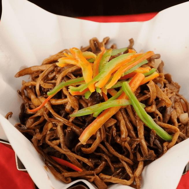 懒人版干锅茶树菇