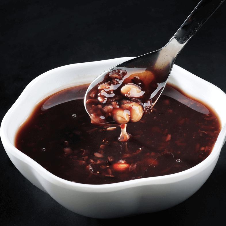 自制黑米粥