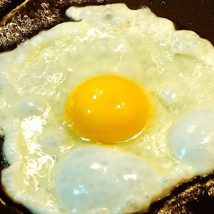 早餐美食煎蛋