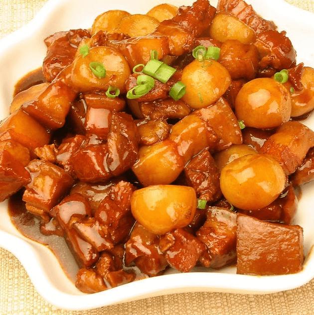 口感好的土豆烧肉
