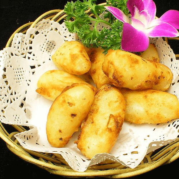 美味的烤红薯