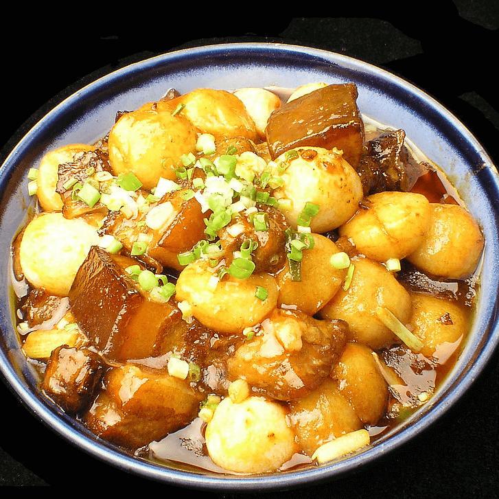 简单的土豆烧肉