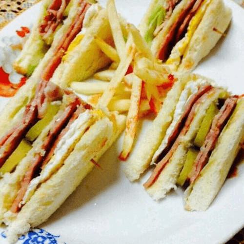 鲜香的三明治