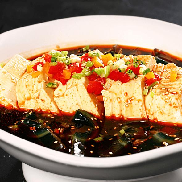 好吃的皮蛋豆腐
