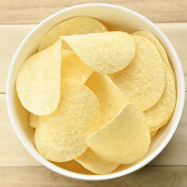 鲜香的薯片