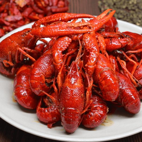 美味的麻辣小龙虾