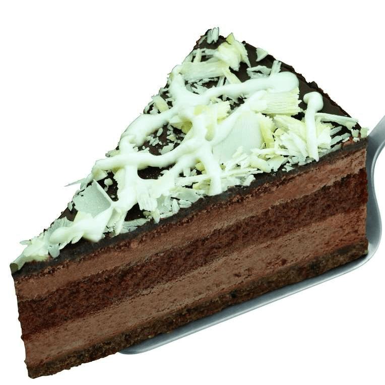 香甜的巧克力慕斯蛋糕