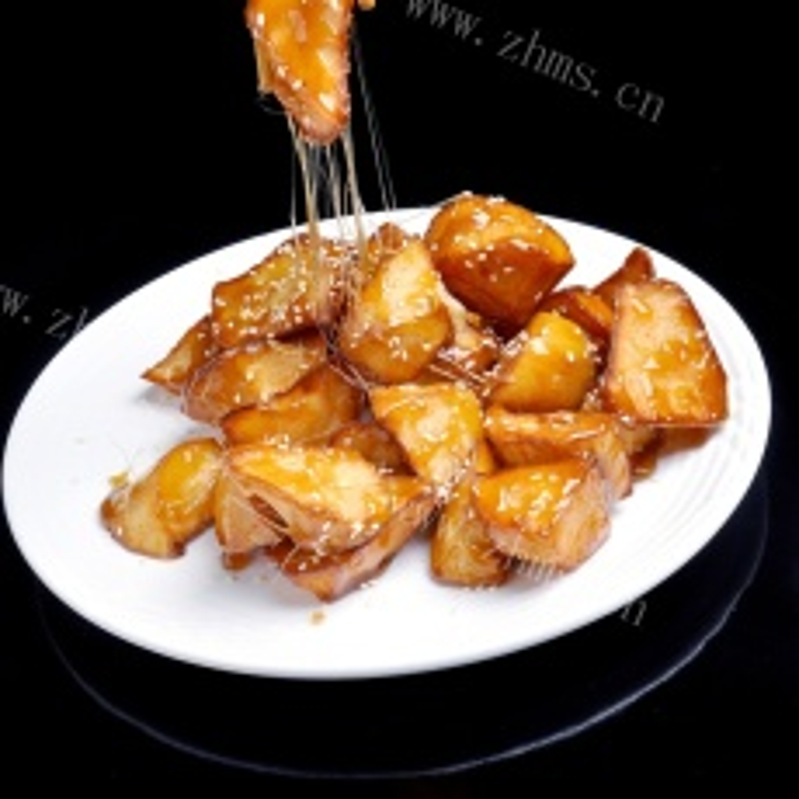 最爱的拔丝红薯
