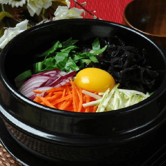 好吃的韩式拌饭