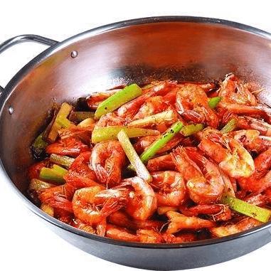 美味干锅香辣虾