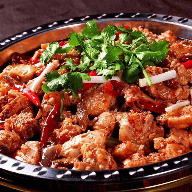 助消化的干锅鸡