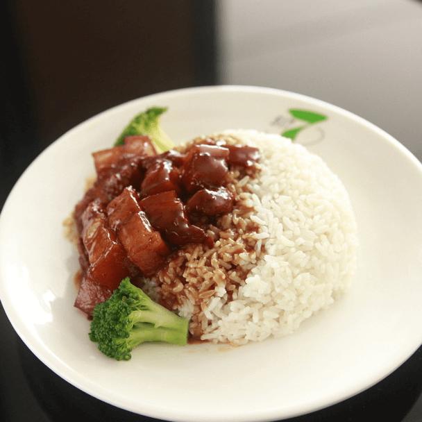 好吃的台湾卤肉饭