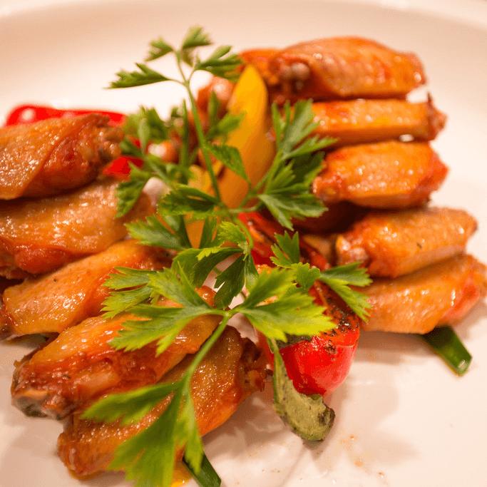 美味的奥尔良烤翅