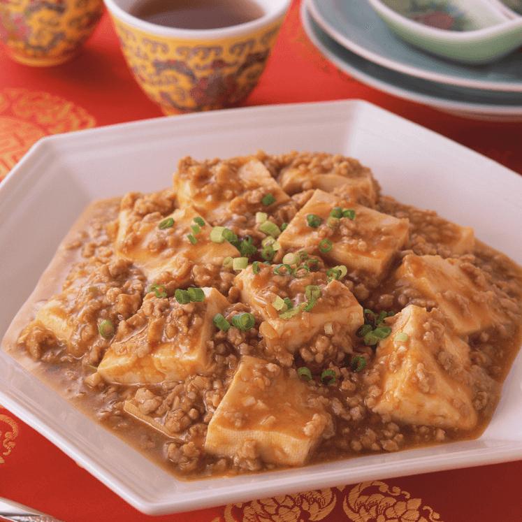 可口的肉末豆腐