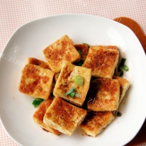 正宗的铁板豆腐