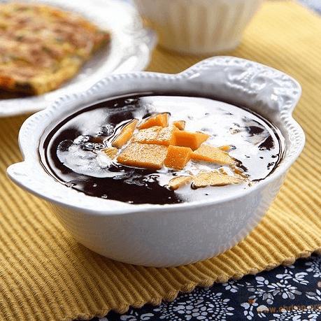 营养早餐之黑米粥