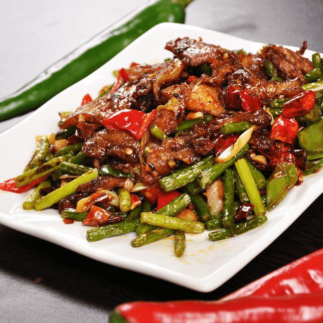简单版青椒回锅肉
