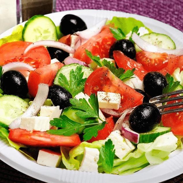 健康的蔬菜沙拉