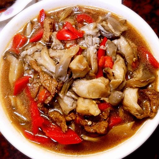 DIY蘑菇炒肉