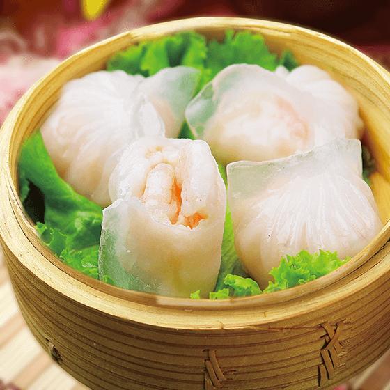 爱上美食水晶虾饺