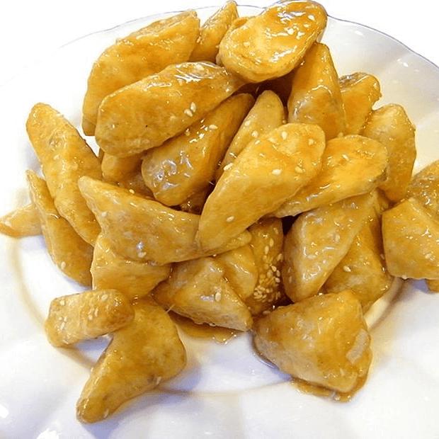 自制拔丝红薯