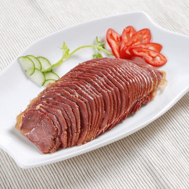 颜值高的五香牛肉