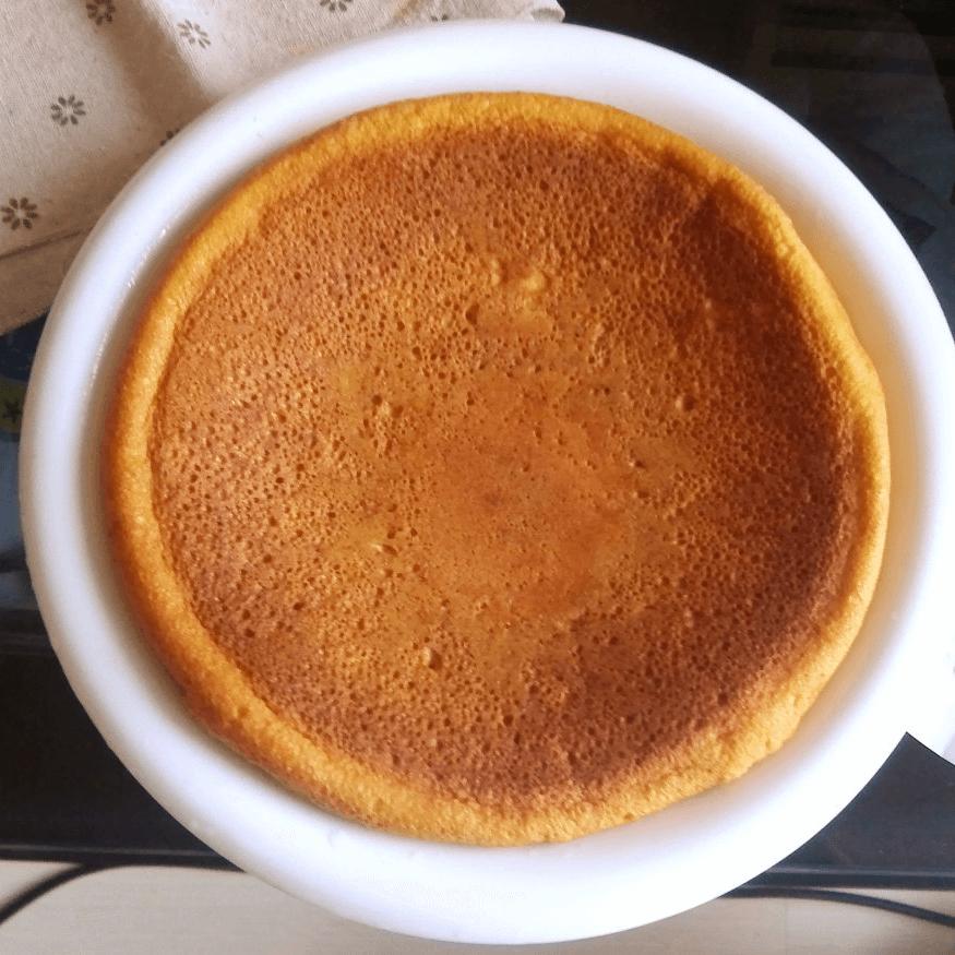 自己做的电饭锅蛋糕