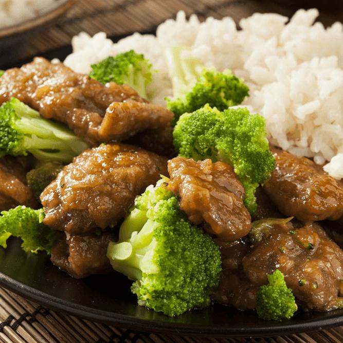 家常菜西兰花炒肉
