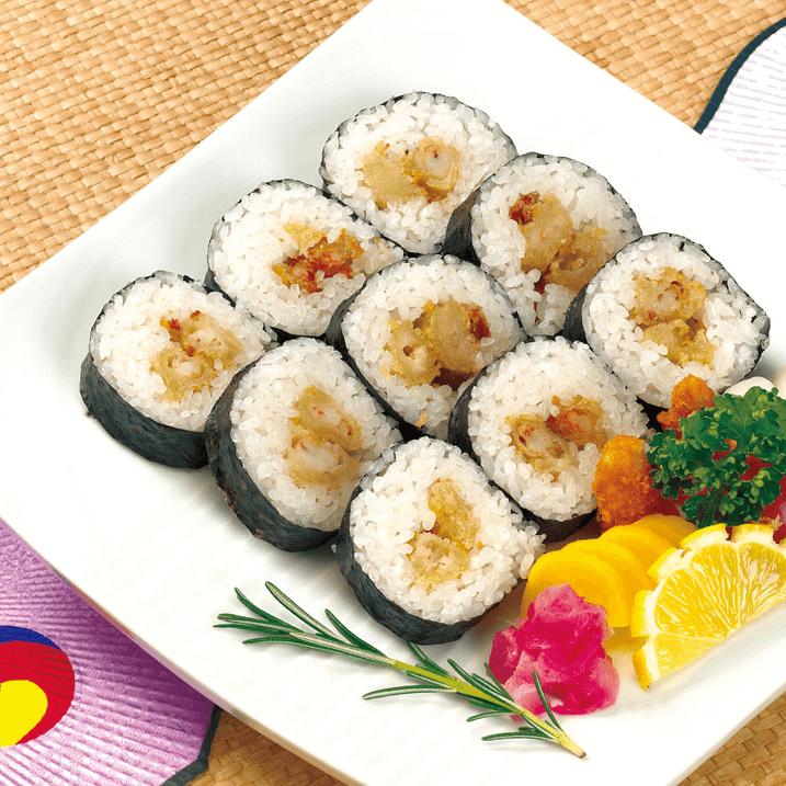 好吃的自制寿司