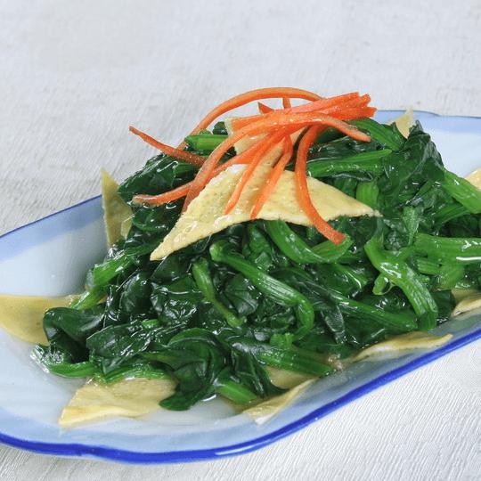 好吃的凉拌菠菜