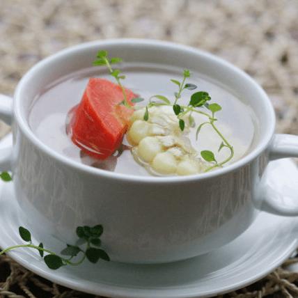 清淡的蔬菜汤