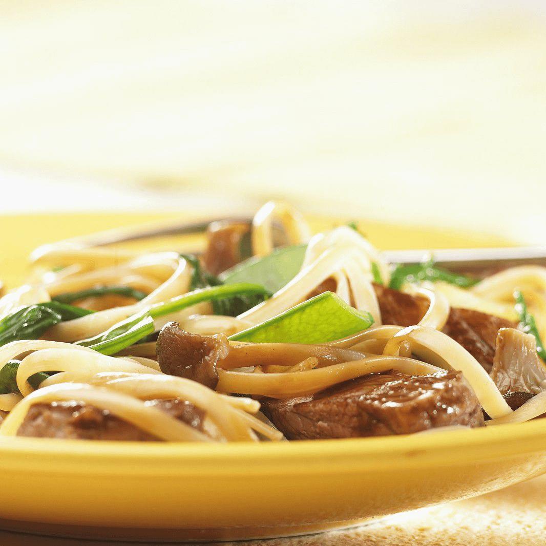 超级美味蘑菇炒肉
