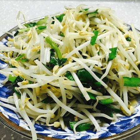 懒人菜炒豆芽