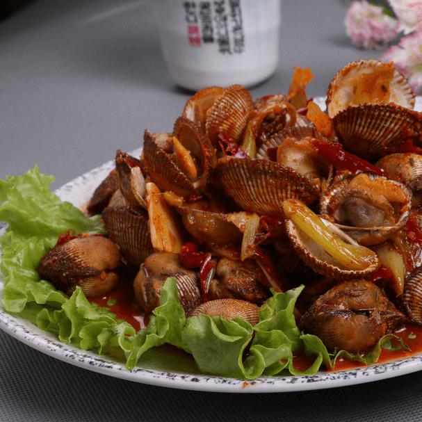 辣美味的炒蚬子