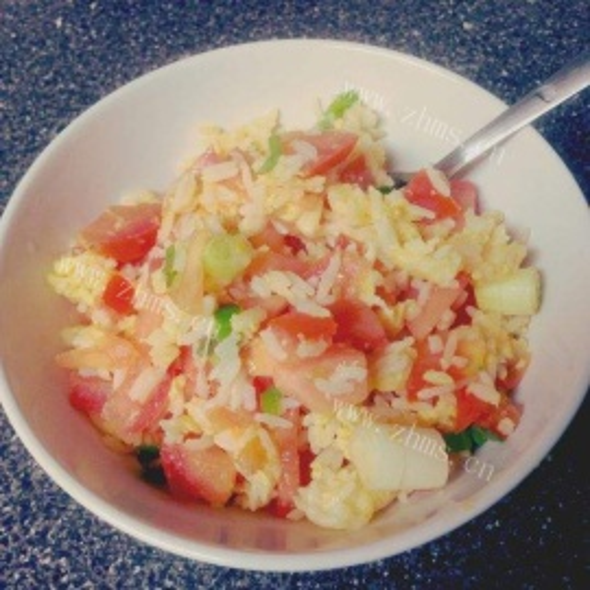 小番茄炒蛋饭