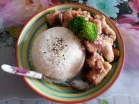 咖喱鸡块饭