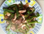 家常菜青椒炒章鱼