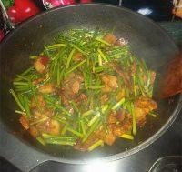 家常菜蒜苗回锅肉
