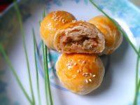 手工苏式鲜肉月饼