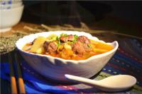 美味的番茄牛肉汤