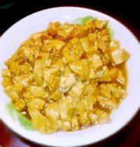 健康美味的肉末豆腐