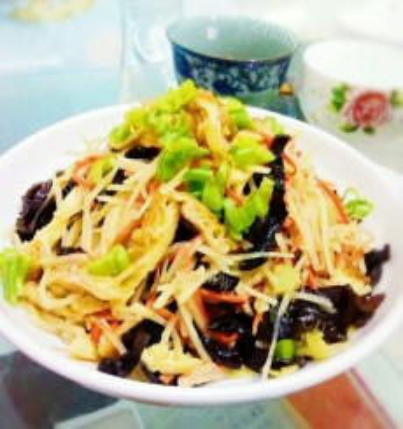 DIY素炒土豆丝