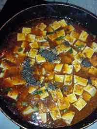 家常菜麻辣豆腐