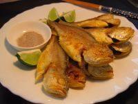家常菜干煎小黄鱼