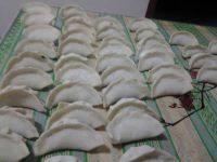 自制韭菜猪肉水饺