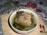 秀色可餐的排骨海带汤